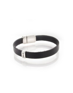 Bracelet simple tour en cuir homme