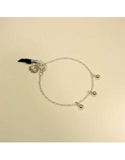 Bracelet chaîne argent