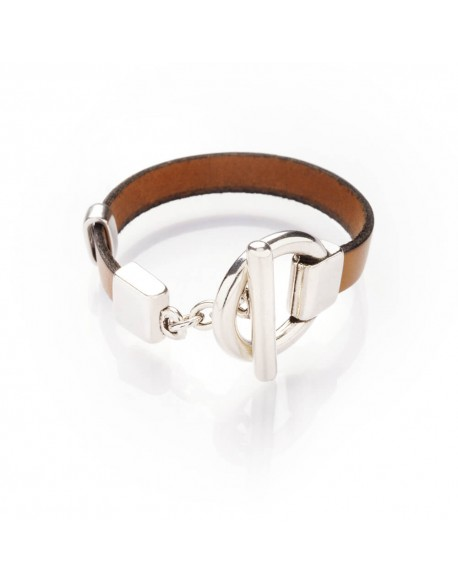 Bracelet cuir simple tour