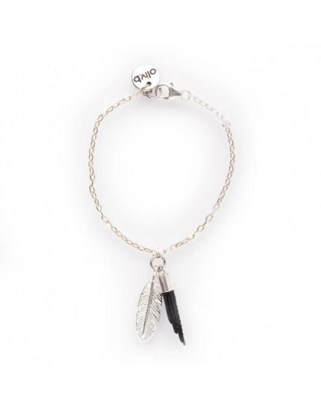 Bracelet chaine argent